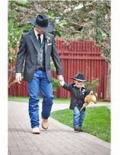 Wedding Suit Attire Western