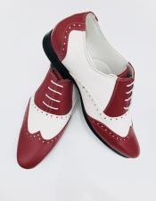 Nardoni Leather Burgundy Two