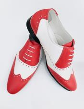 Nardoni Leather Upper Red