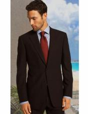 Notch Lapel Brown Athletic