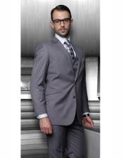 Athletic Cut Classic Suits