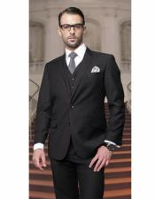 Athletic Black Cut suit