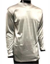Shiny Stripe Material Silver