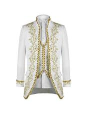 White 1920s 1940s Fashion