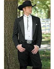Wedding Black Cowboy Jacket