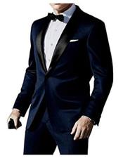 James Bond Tuxedo Navy