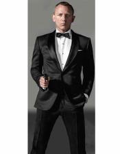 Bond Black Mens Tuxedo