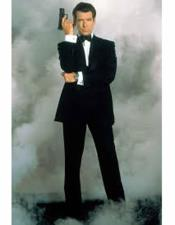 James Bond Black Tuxedo