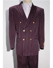 Burgundy ~ White mens