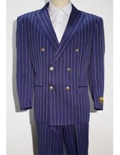 Pinstripe Purple ~ White