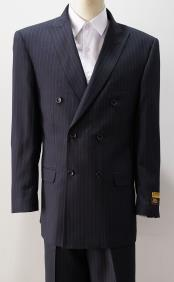 Six Button Pinstripe Pattern