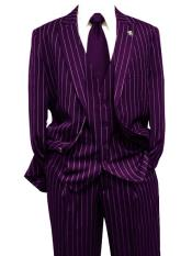 Dark Purple Gangster Bold