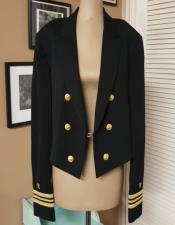 Tailcoat Six Button Peak