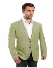 Mint Linen Sports Coat