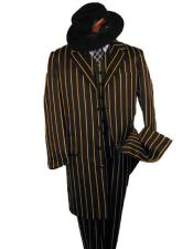 ~ Gold Pinstripe Fashion