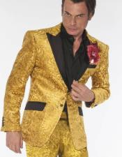 and Gold Tuxedo Vested