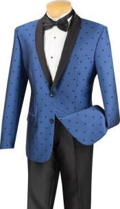 Dot Tuxedo Dinner Jacket