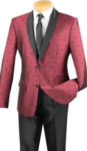 ID#KA29169 Put this in Polk Dot ~ Polka Dot Tuxedo Dinner Jacket Blazer Sport Coat
