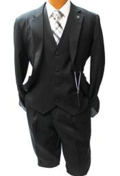 Adams Notch Lapel Black