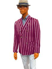 Bold Stripe Sport Coat