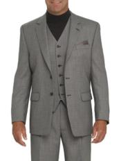 Gray Suit Separates Wool