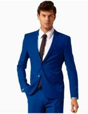 Royal Blue Suit By