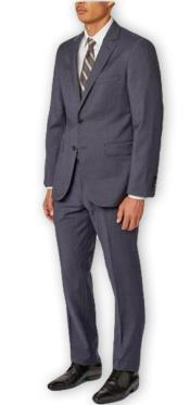 Wool Navy Suit Separates