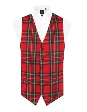 Red Tartan Vest Regular