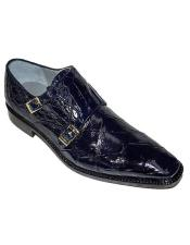 Monk Strap Oscar Alligator
