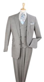 3pc Solid Gray 100%