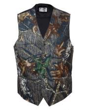 Camo Groomsmen Vest ~