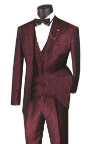 Paisley Blazer Metallic Vested