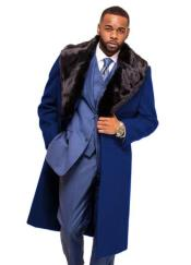 Blue Overcoat ~ Long