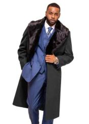 Grey Overcoat ~ Long
