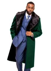 Green Overcoat ~ Topcoat