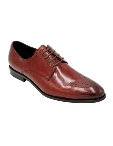 Dress Shoe Burgundy Unique