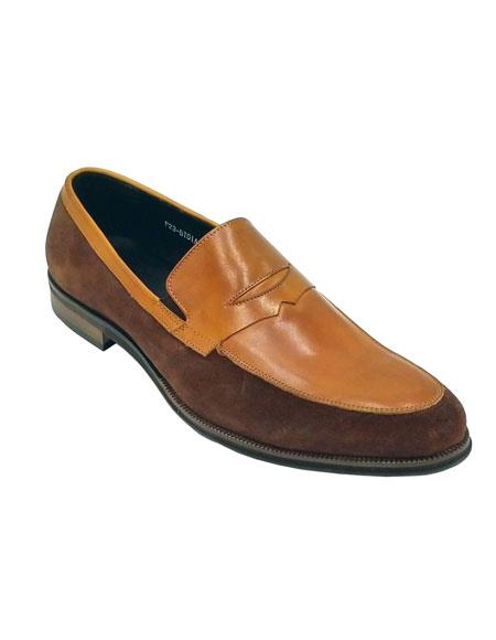 Dress Shoe Tan Brown