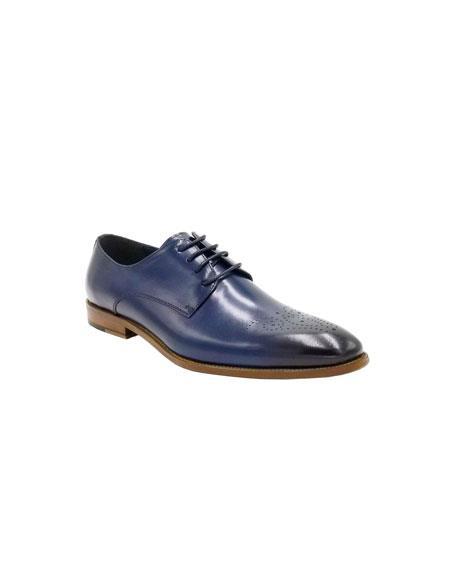 Dress Shoe Navy Unique
