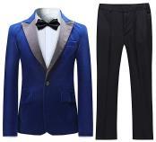 Velvet Suit Tuxedo Jacket