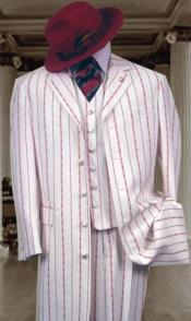 ~ Red Pinstripe Fashion