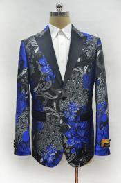 ID#KA29632 Mens Two Button Cheap Priced Designer Fashion Dress Royal Casual Blazer On Sale Peak Lapel Prom Blazer