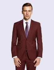 Giorgio Fiorelli Burgandy Suit