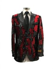 Red Christmas Party Blazer