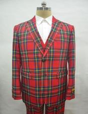 ID#AI29766 Mens Christmas Red Party Blazer