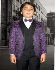 Purple Textured Pattern and