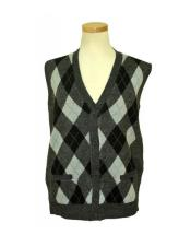 Microfiber V-Neck Sweater Vest