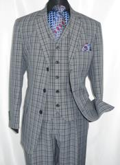 Button 3 Piece Suit