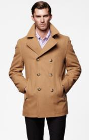 Big and Tall Peacoat