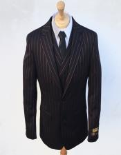Stripe Gangster Suit Double