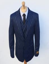 Suit Bold Stripe Double